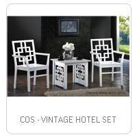 COS - VINTAGE HOTEL SET